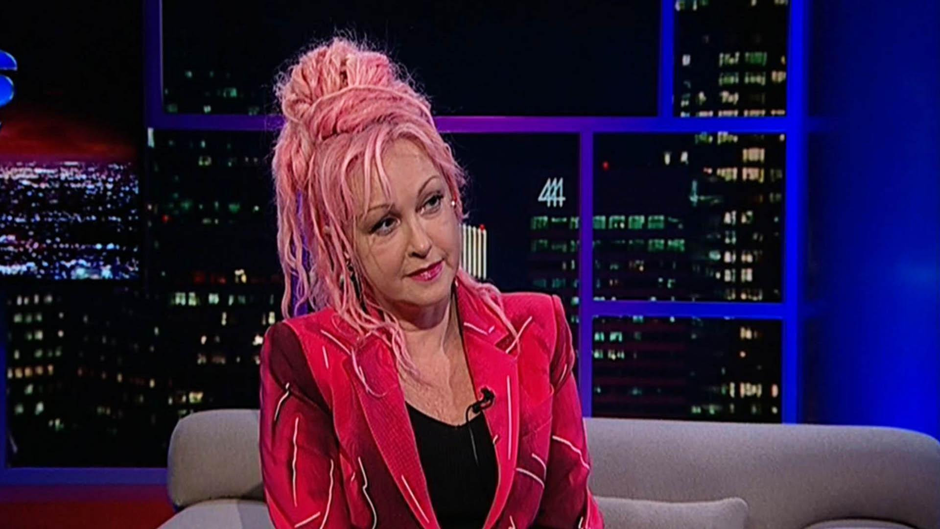 Singer-songwriter Cyndi Lauper, pt. 2