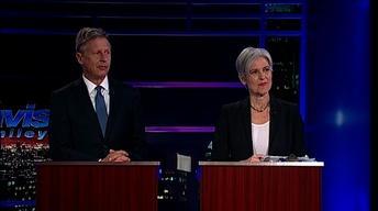 Pres. Candidates Dr. Jill Stein & Gov. Gary Johnson Part 1