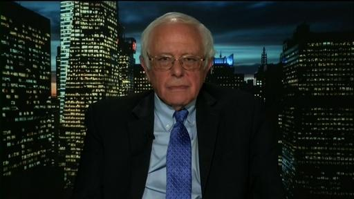 Senator Bernie Sanders Video Thumbnail