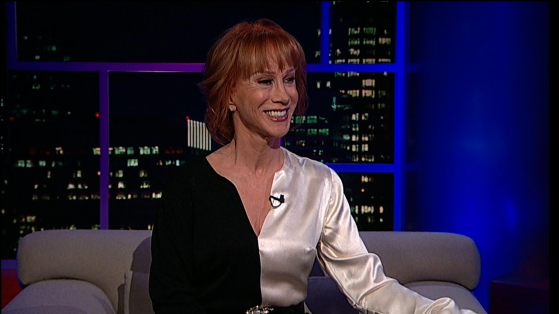 Comedian & author Kathy Griffin