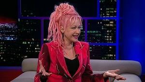 Singer-songwriter Cyndi Lauper