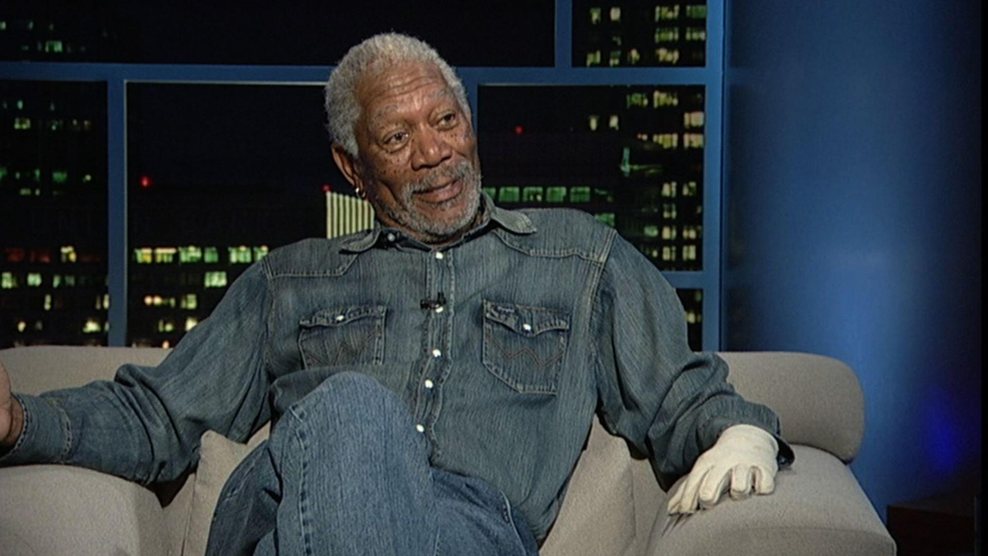 Actor Morgan Freeman, Part 1  image