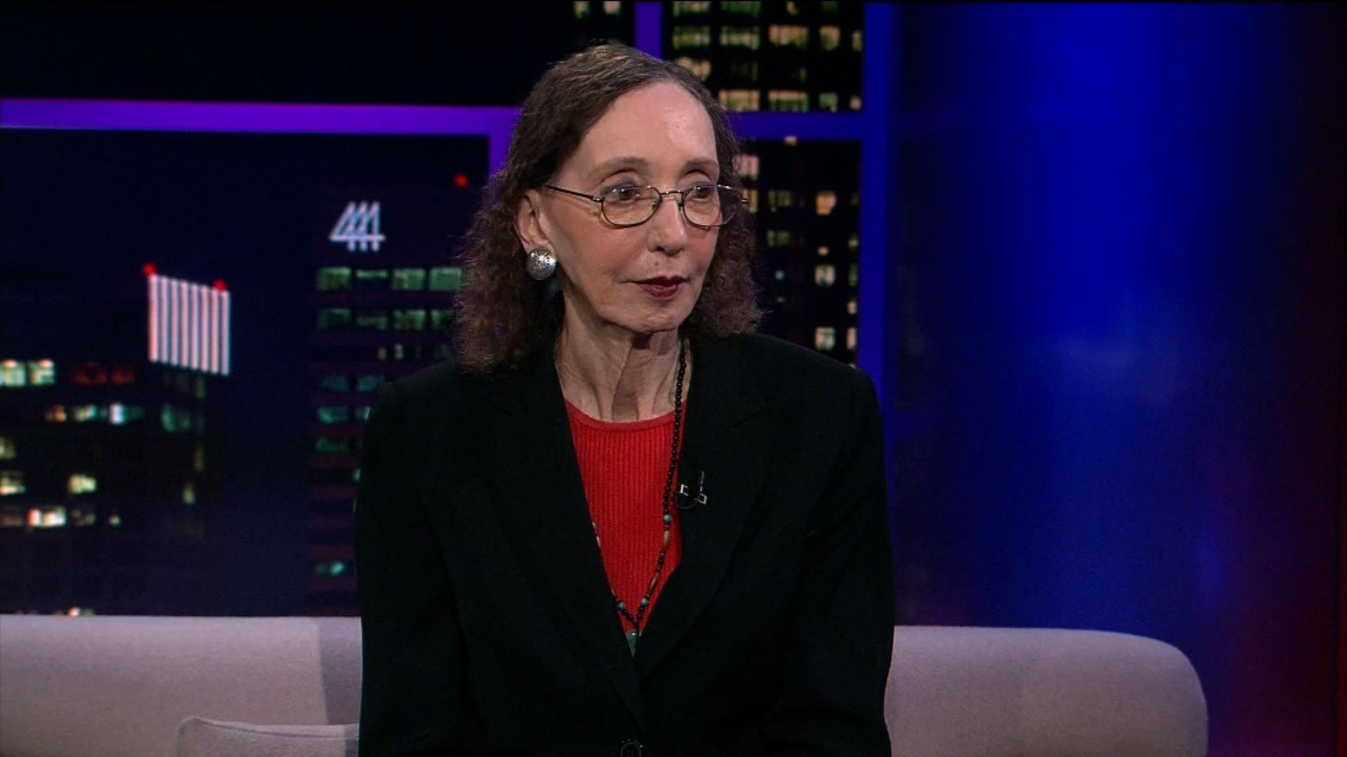 Author and Journalist Joyce Carol Oates
