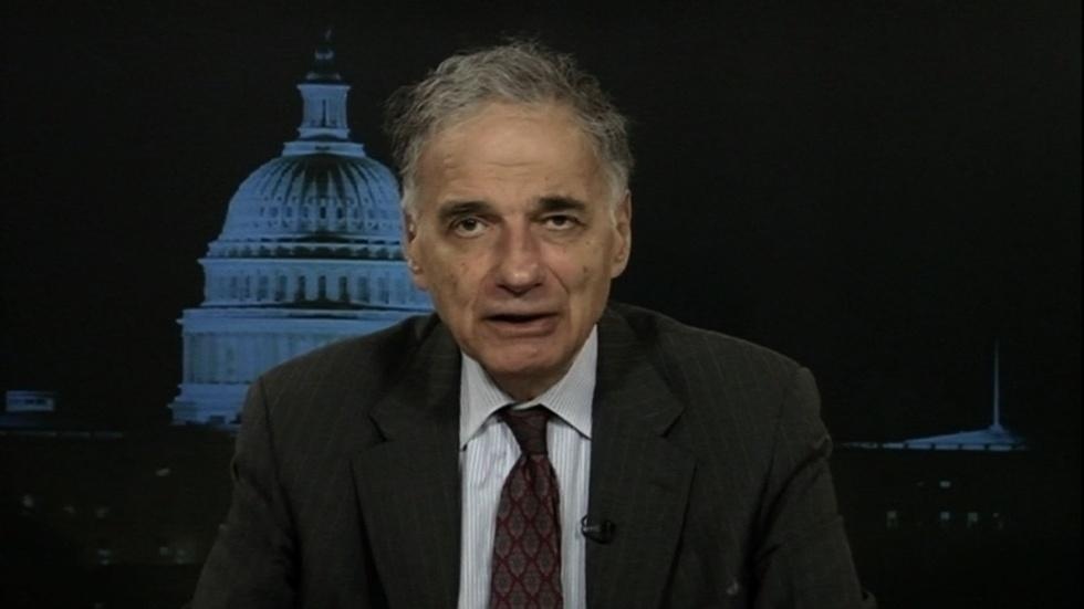 Consumer advocate Ralph Nader image