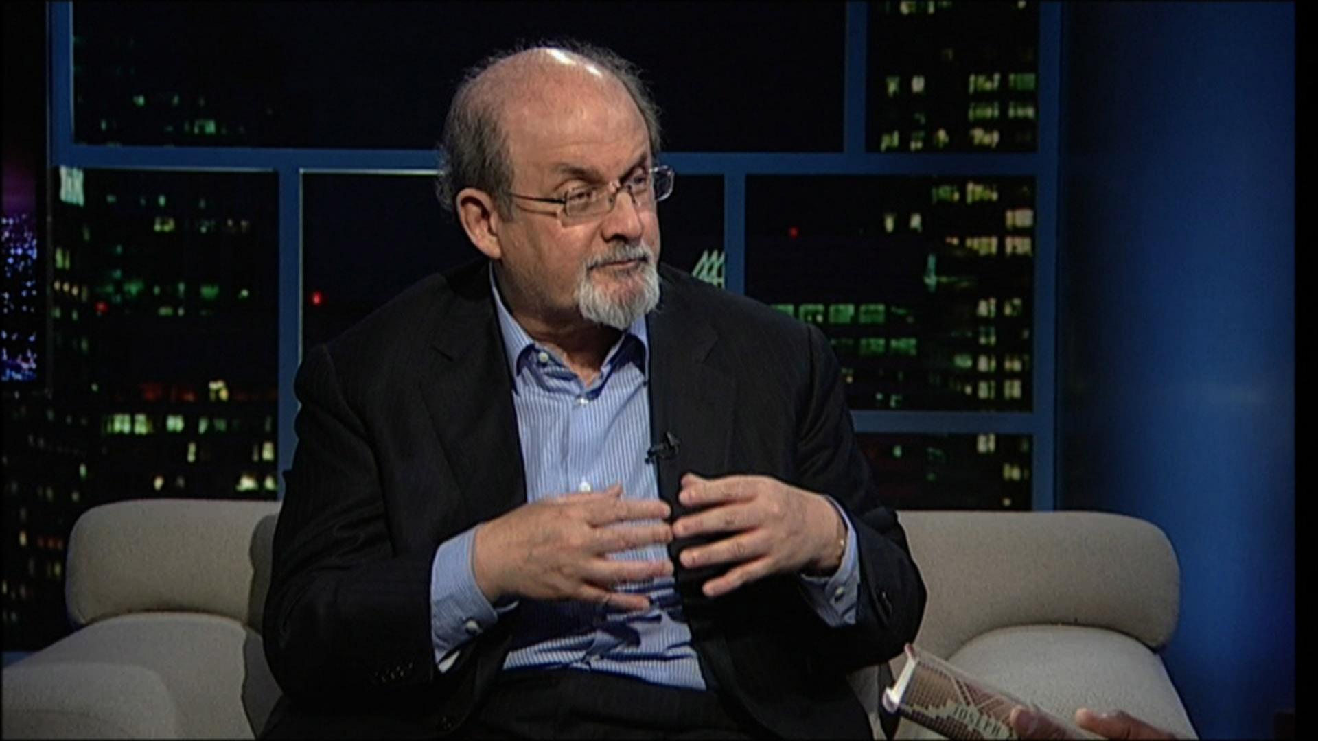 Author Salman Rushdie image