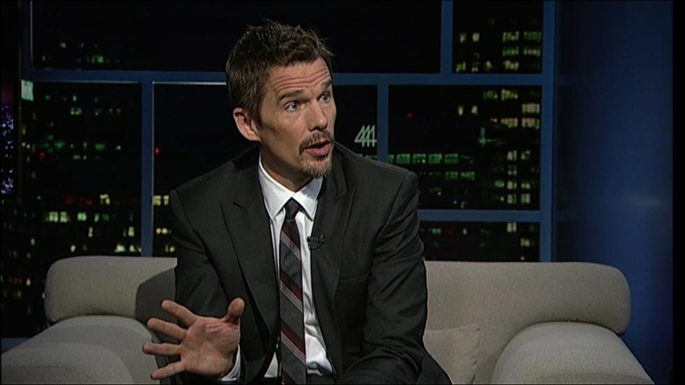 Actor-writer-director Ethan Hawke image