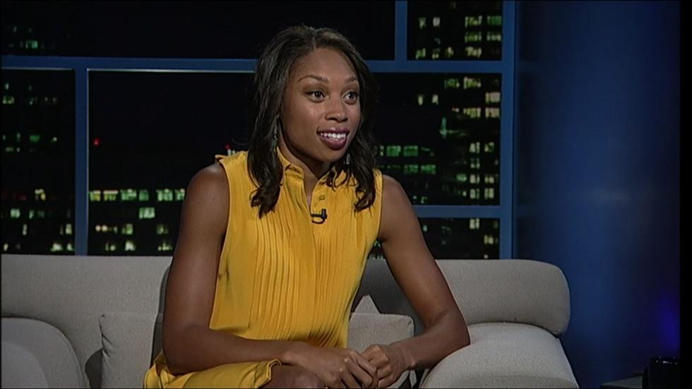 Olympic gold medalist Allyson Felix image