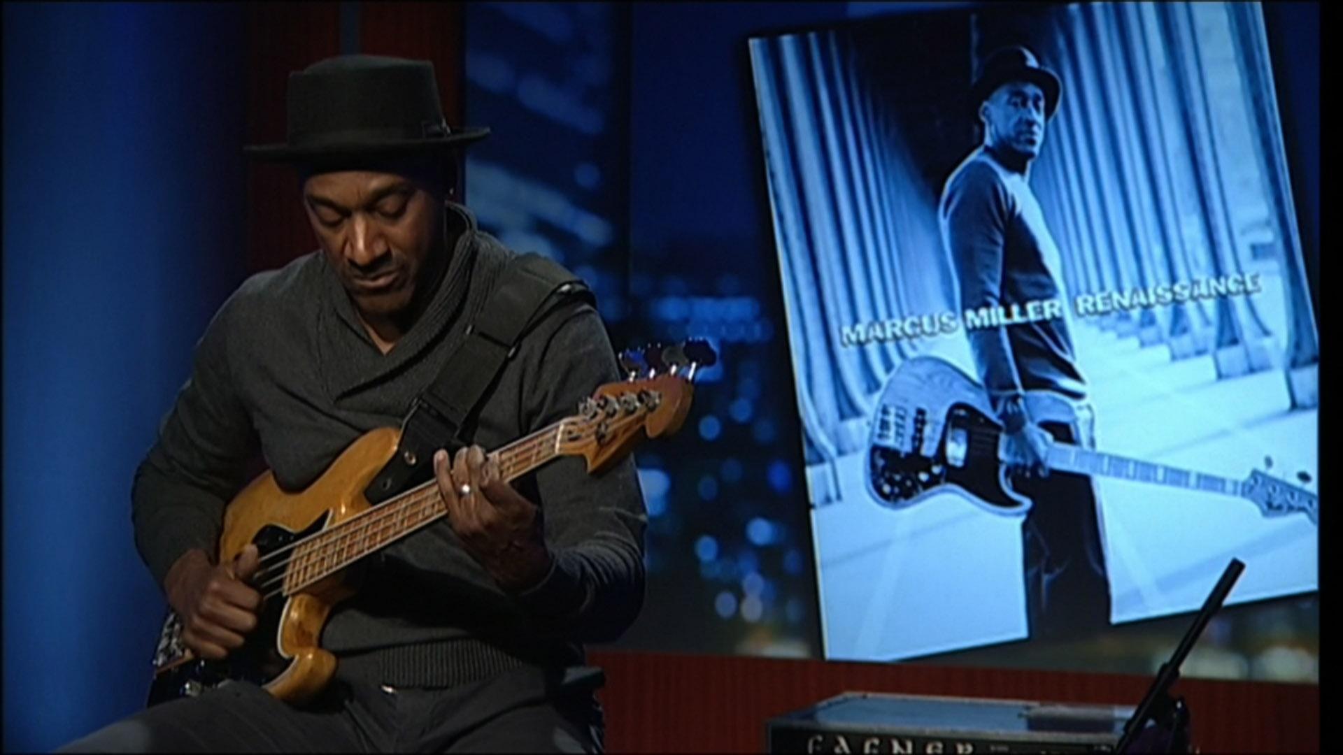 Jazz musician Marcus Miller image