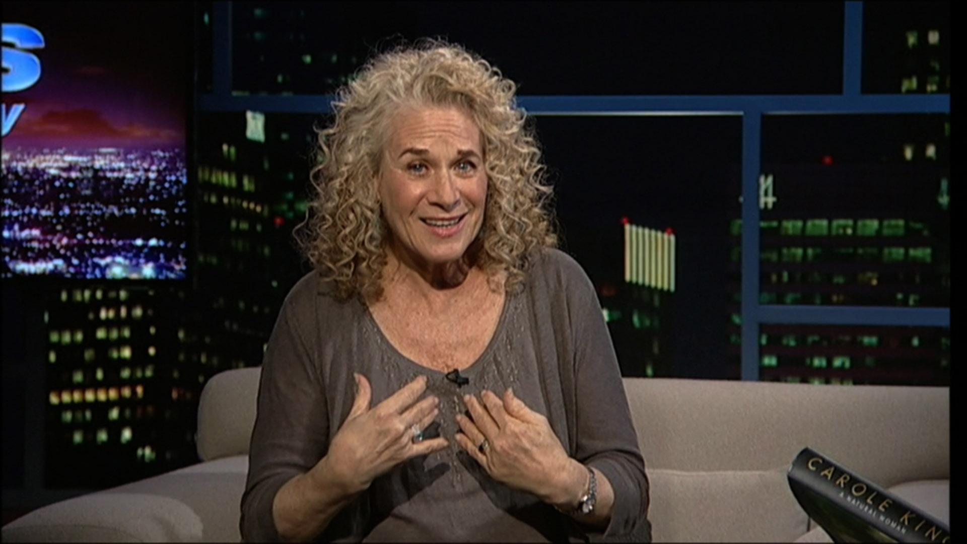 Singer-songwriter Carole King : December 21st, 2012 image