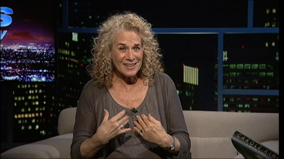 Singer-songwriter Carole King : December 21st, 2012 image