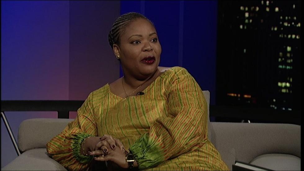 Nobel laureate Leymah Gbowee image