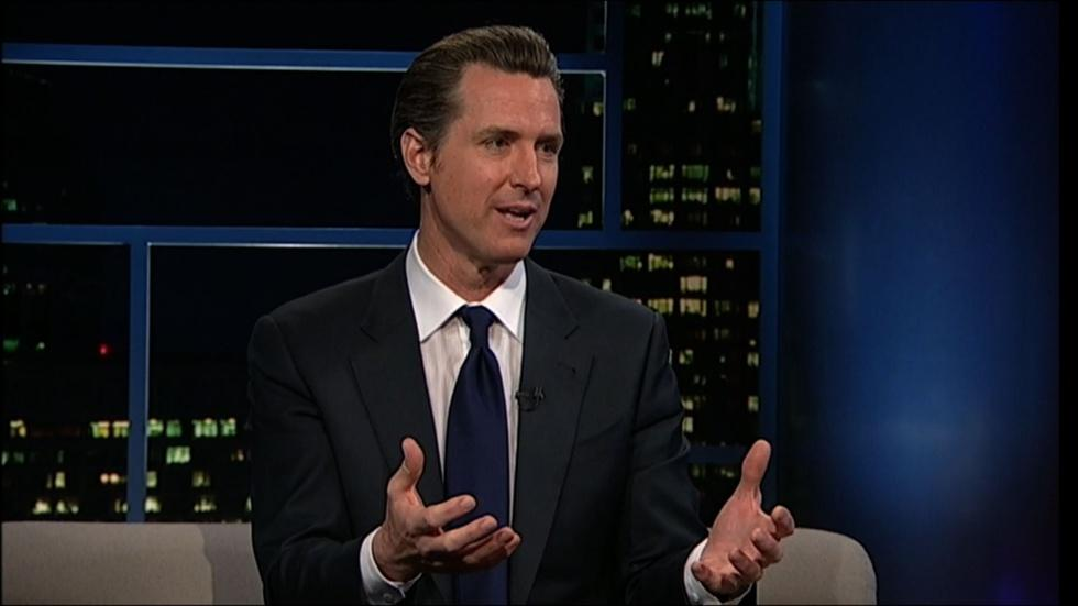California Lt. Gov. Gavin Newsom image