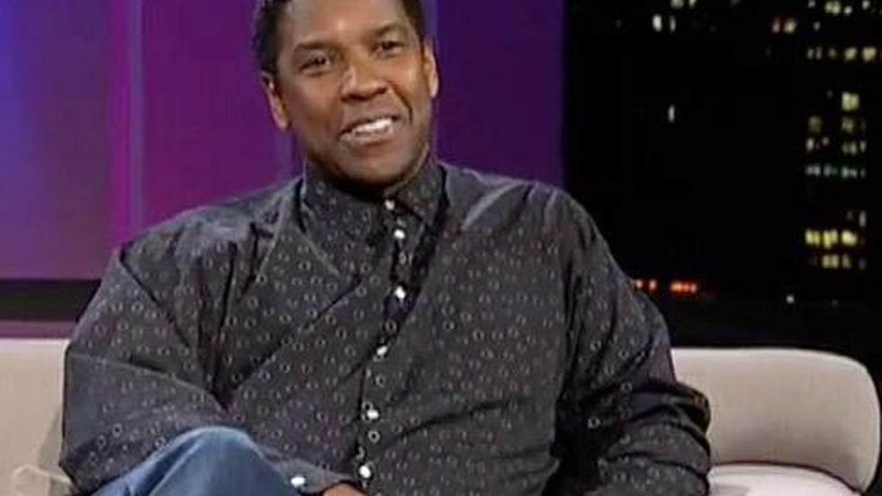 Actor-director Denzel Washington image