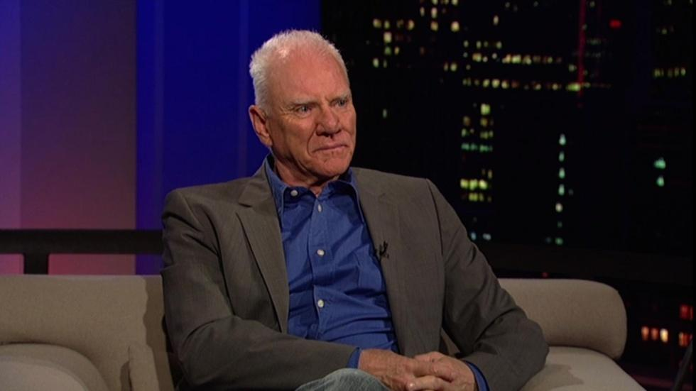 Actor Malcolm McDowell image
