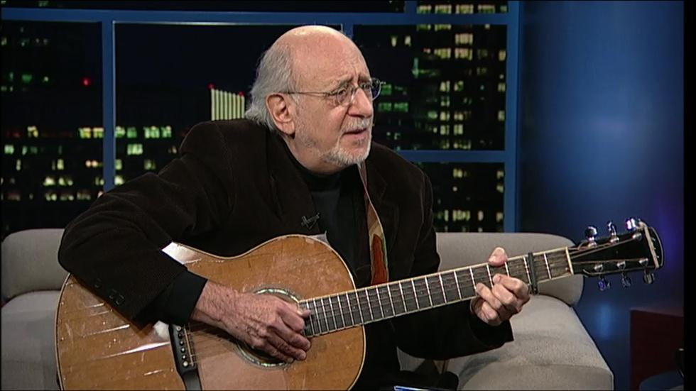 Musician-singer-songwriter Peter Yarrow image
