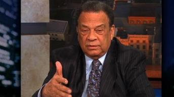 Former U.N. ambassador & Civil Rights veteran Rev. Andrew...