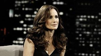Andie MacDowell: Friday, 4/16/10