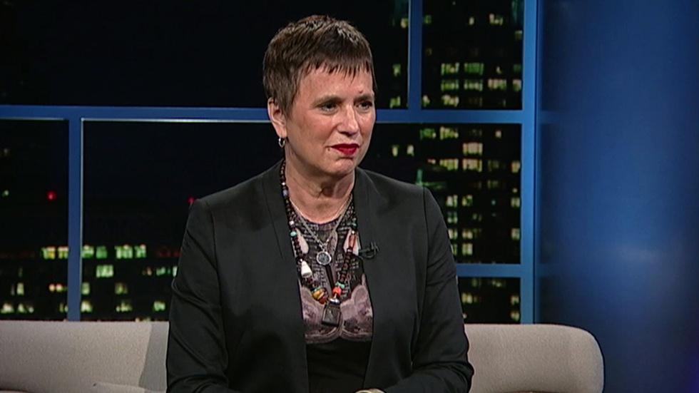 Playwright-activist Eve Ensler image