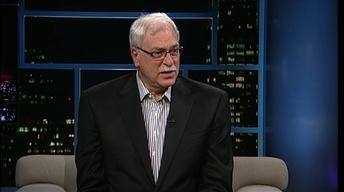 Former NBA coach Phil Jackson