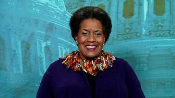 Civil rights advocate Myrlie Evers-Williams image