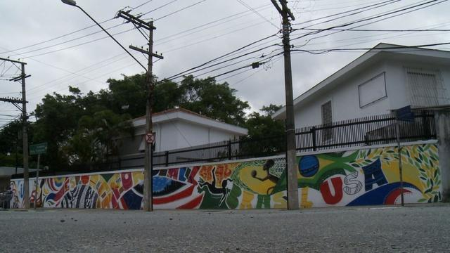 TTC Extra: World Cup Mural - Brazil & U.S. Friendship