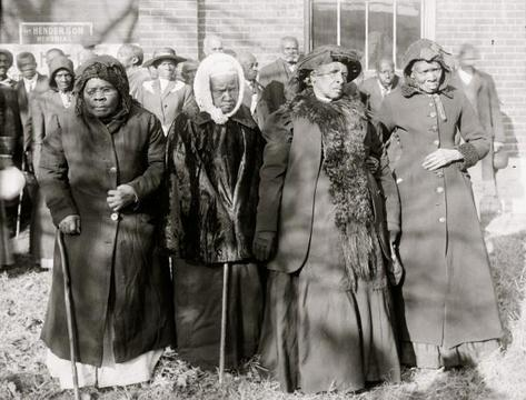 Striking Picture of Freed Women Slaves Resurfaces