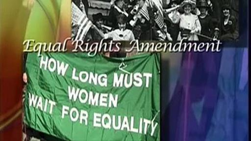 Women's History Month - Equal Rights Amendment