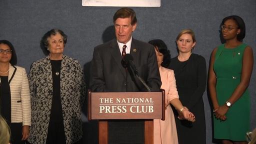 Rep. Don Beyer (D-VA) Announces Men For Women Caucus