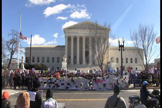 Supreme Court Hears Arguments on Texas Abortion Clinic Case