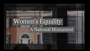 Women's Equality: A National Monument