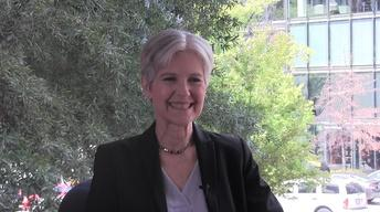 Green Party Presidential Candidate Jill Stein