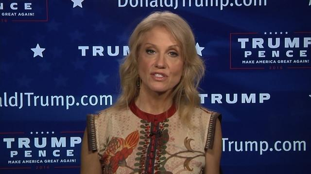 Full Interview with Trump Campaign Manager Kellyanne Conway
