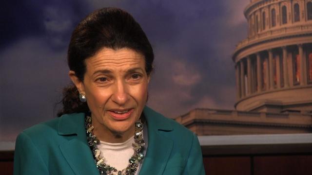 Former Senator Olympia Snowe's Interview