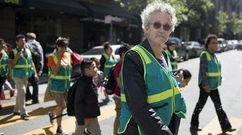Vietnam vet provides safe passage for San Francisco children