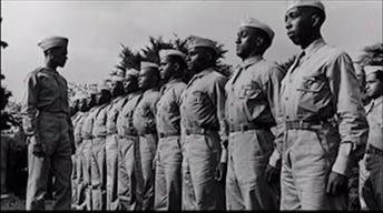 African-Americans Troops Training