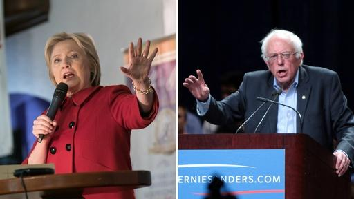 Sanders takes on Clinton in NY and down-ballot concerns Video Thumbnail