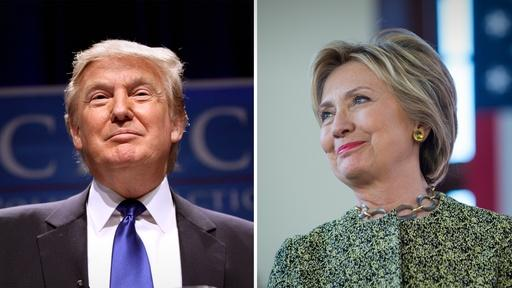 Clinton solidifies lead & Trump talks foreign policy Video Thumbnail