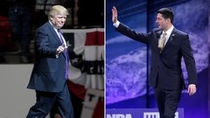 Trump, Ryan try to unify the Republican Party