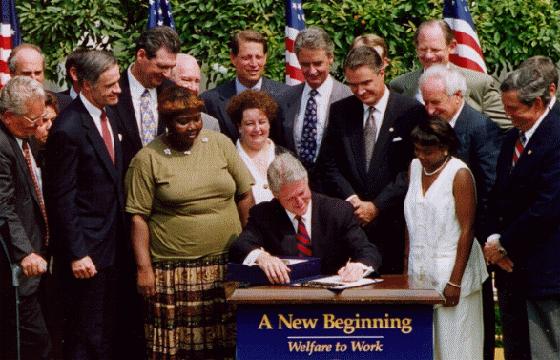 """1996 Welfare Reform: Democratic """"Mini-Revolt"""""""