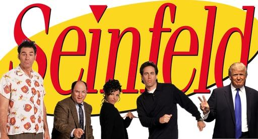 Trump's link to Seinfeld & Bill Clinton's role as First Dude Video Thumbnail