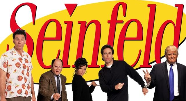 Trump's link to Seinfeld & Bill Clinton's role as First Dude