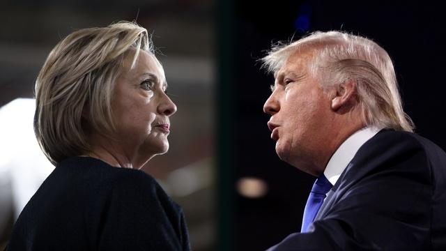 Donald Trump and Hillary Clinton trade accusations of racism