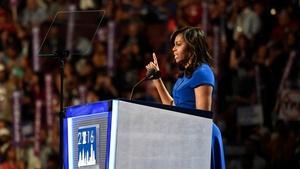 Michelle Obama hits the campaign trail