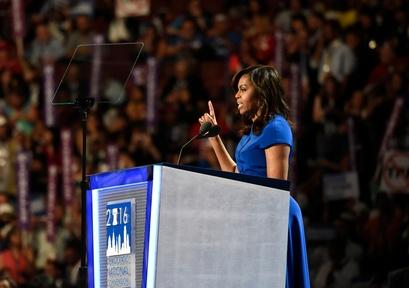 Michelle Obama hits the campaign trail Video Thumbnail