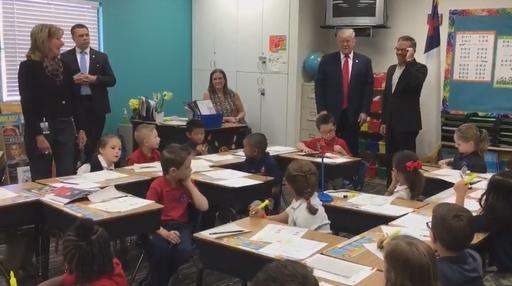 "Kids react to Donald Trump: ""I'm nervous."" Video Thumbnail"