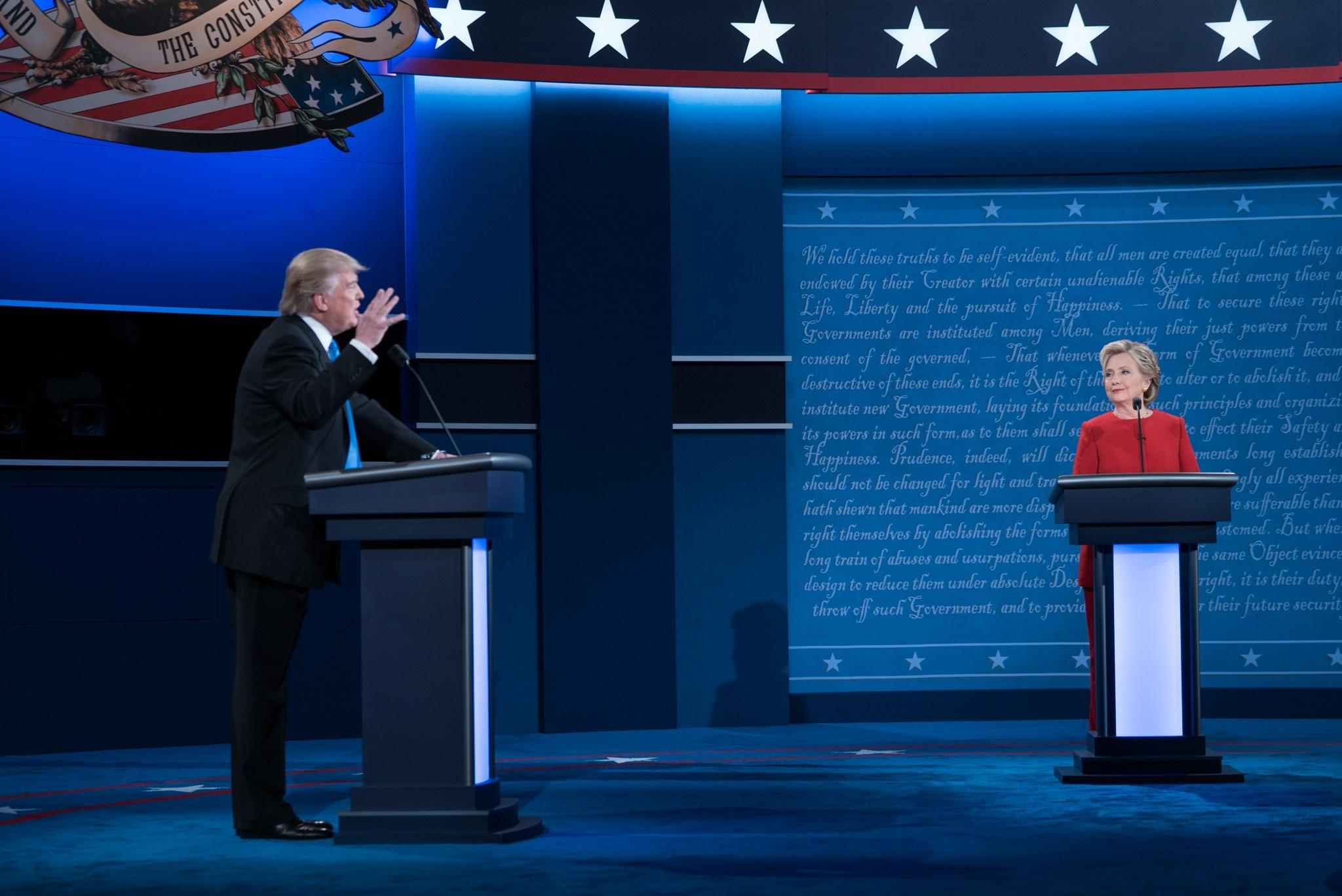 Shifting strategies for the final debate and Ivana Trump