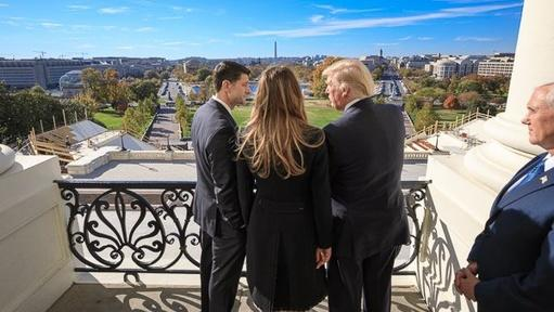 Trump begins transition to the White House Video Thumbnail