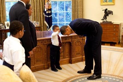 Obama as a role model for black children Video Thumbnail