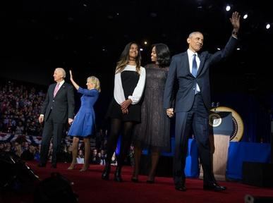Obama says farewell and awards Biden Medal of Freedom Video Thumbnail