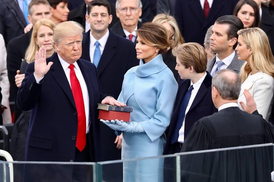 The Inauguration of President Donald Trump